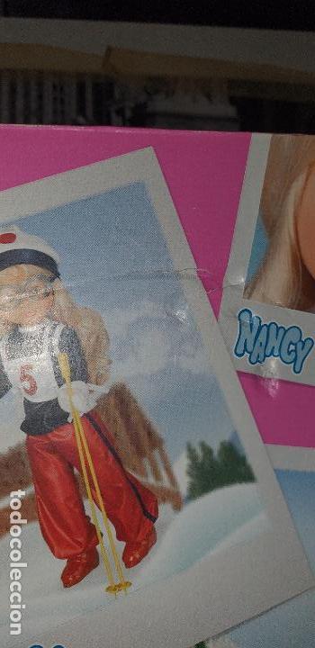 Muñecas Nancy y Lucas: MUÑECA NANCY ESQUIADORA COLECCION 2014 REEDICION. La caja con algún desperfecto NUEVA SIN USAR. - Foto 9 - 161848182
