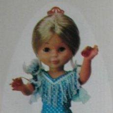 Muñecas Nancy y Lucas: NANCY VESTIDO FLAMENCA ORIGINAL DE FAMOSA AÑOS 70. Lote 162288878