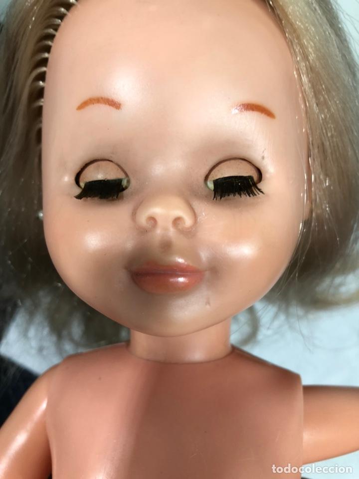 Muñecas Nancy y Lucas: Muñeca NANCY rubia, ojos marrones Margarita años 70 pata bollo - Foto 8 - 164262477