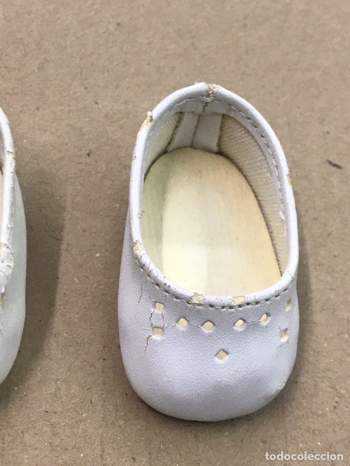 Muñecas Nancy y Lucas: Nancy zapatos blancos de piel - Foto 3 - 164519830