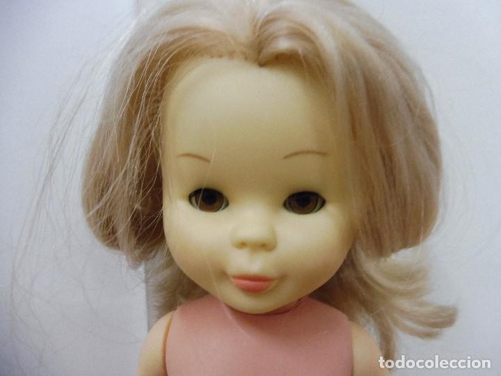 Muñecas Nancy y Lucas: Nancy articulada rubia ojos castaños Famosa Made in Spain - Foto 2 - 164745858