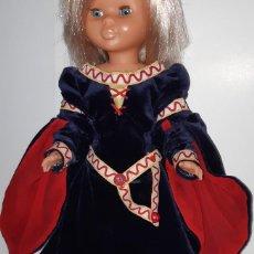 Muñecas Nancy y Lucas: VESTIDO DE TERCIOPELO DAMA MEDIEVAL PARA MUÑECA NANCY. Lote 165122830