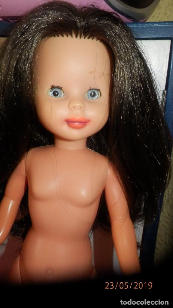 Muñecas Nancy y Lucas: Nancy setentera morena de pelo implantado - Foto 13 - 165459494