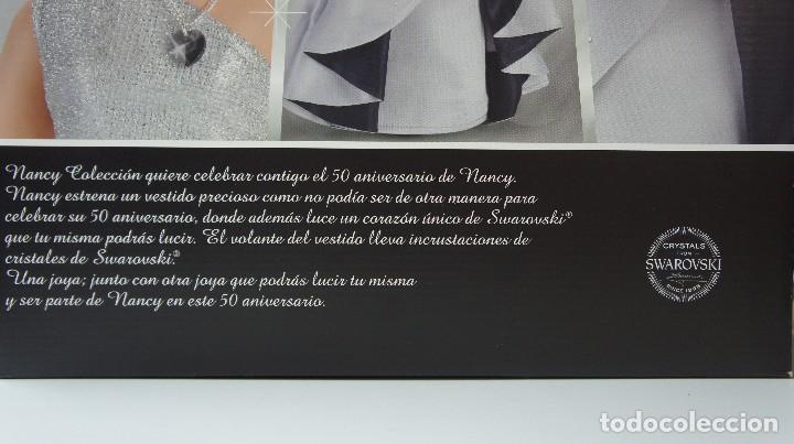 Muñecas Nancy y Lucas: MUÑECA NANCY COLECCIÓN 50 ANIVERSARIO SWAROVSKI, NUEVA EN CAJA SIN ABRIR. - Foto 6 - 165460618