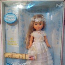 Muñecas Nancy y Lucas: NANCY COMUNIÓN 2011 EN CAJA. Lote 166442188