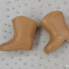Muñecas Nancy y Lucas: NANCY BOTAS CAMPERAS ORIGINALES. Lote 179114430