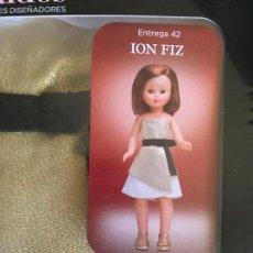 Muñecas Nancy y Lucas: ION FIZ NANCY FAMOSA GRANDES DISEÑADORES Nº 42. Lote 167912084