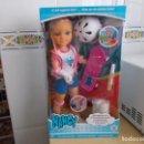Muñecas Nancy y Lucas: NANCY NEW. ¿ A QUE JUGAMOS HOY ? UN DIA HACIENDO SKATE NUEVA SIN USO EN SU CAJA ORIGINAL. Lote 168266936