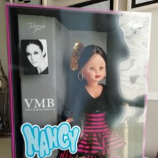 Muñecas Nancy y Lucas: NANCY FLAMENCA COLECCION REEDICION VMB VICKY MARTÍN BERROCAL GITANA FARALAES. Lote 168403232