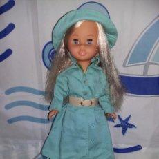 Muñecas Nancy y Lucas: NANCY DE COLECCIÓN 2005 + VESTIDO LLUVIA AÑOS 70 CON ETIQUETA CEJAS QUIRON OJOS GRISES MUY NUEVA!!!. Lote 169412208