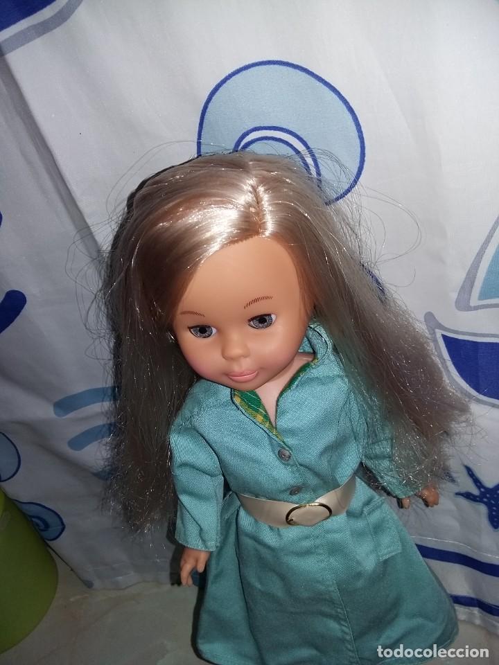 Muñecas Nancy y Lucas: nancy de colección 2005 + vestido lluvia años 70 con etiqueta cejas quiron ojos grises muy nueva!!! - Foto 4 - 169412208