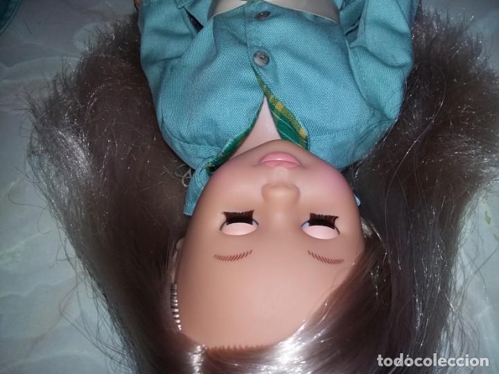 Muñecas Nancy y Lucas: nancy de colección 2005 + vestido lluvia años 70 con etiqueta cejas quiron ojos grises muy nueva!!! - Foto 6 - 169412208