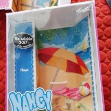 Muñecas Nancy y Lucas: CAJA NANCY PLAYA REEDICION. Lote 169530536