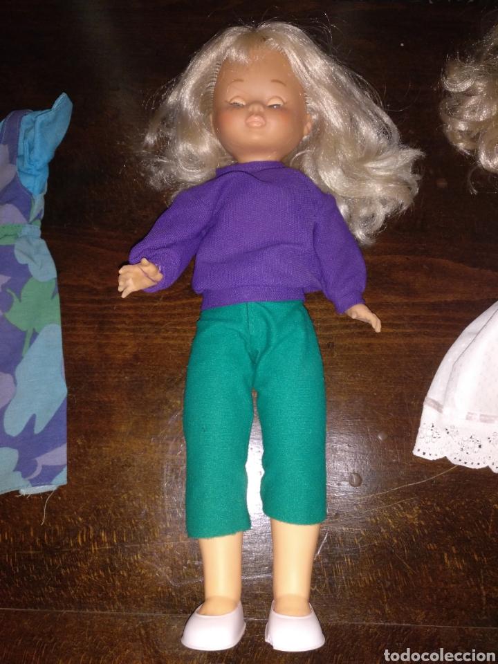 Muñecas Nancy y Lucas: Lote Nancy 10 pecas rubia con flequillo y con ojos azules, más 3 conjuntos de ropa - Foto 3 - 170500230