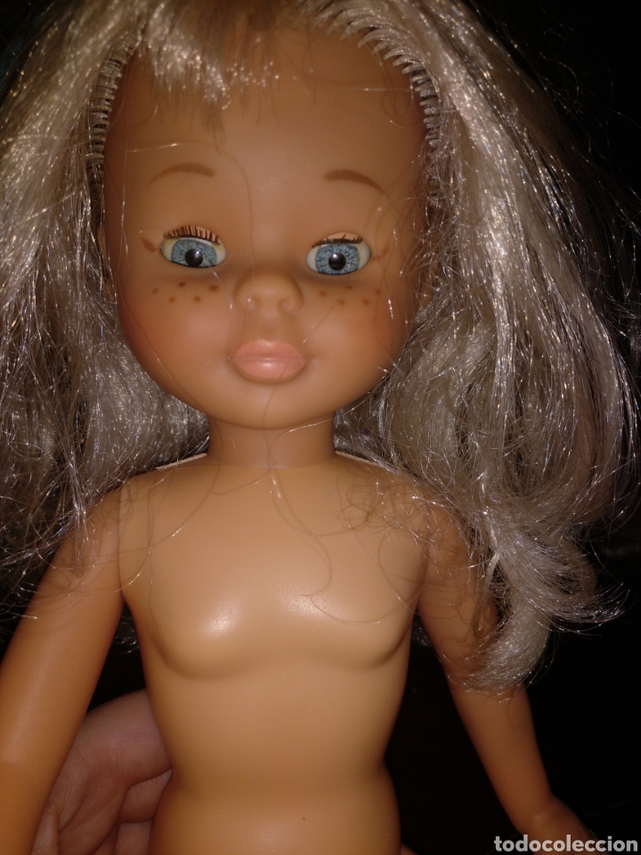 Muñecas Nancy y Lucas: Lote Nancy 10 pecas rubia con flequillo y con ojos azules, más 3 conjuntos de ropa - Foto 8 - 170500230