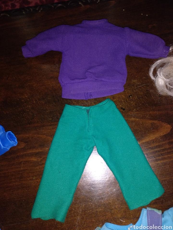 Muñecas Nancy y Lucas: Lote Nancy 10 pecas rubia con flequillo y con ojos azules, más 3 conjuntos de ropa - Foto 9 - 170500230