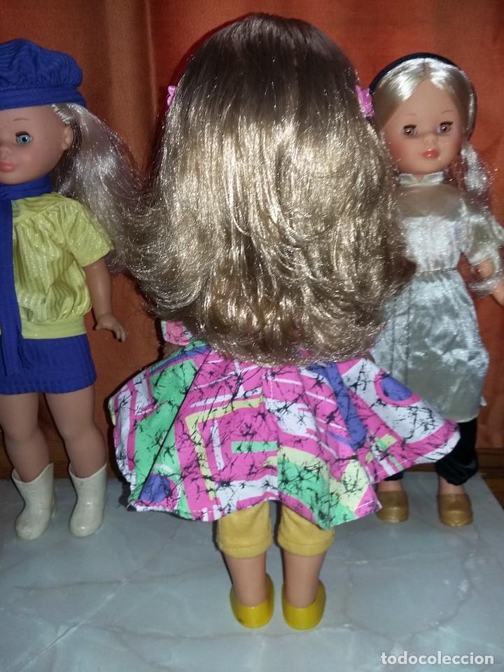 Muñecas Nancy y Lucas: rara muñeca nancy pecosa de transición cejas finas,pelo rubia cerveza años 80 + conjunto love you - Foto 3 - 171354173