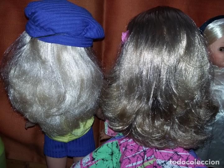 Muñecas Nancy y Lucas: rara muñeca nancy pecosa de transición cejas finas,pelo rubia cerveza años 80 + conjunto love you - Foto 5 - 171354173