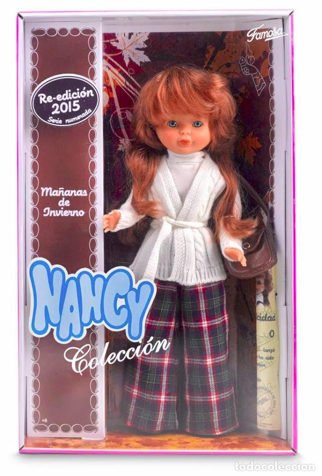 NANCY MAÑANAS DE INVIERNO DESCATALOGADA (Juguetes - Muñeca Española Moderna - Nancy y Lucas)