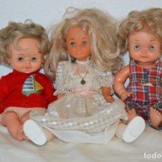 Muñecas Nancy y Lucas: LOTE DE 3 MUÑECAS ANTIGUAS DE FAMOSA - UNA ES NANCY Y OTRAS 2 TAMBIÉN FAMOSA - ¡MIRA FOTOS/DETALLES!. Lote 178097143