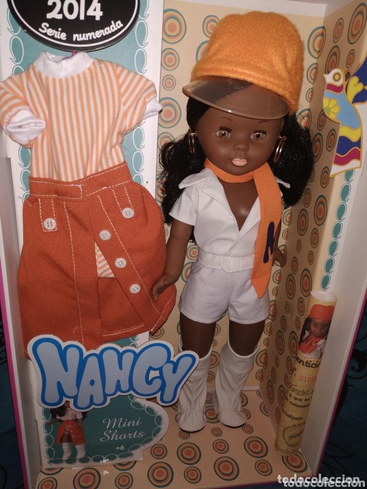 Muñecas Nancy y Lucas: Nancy mulata reedición, mini shorts - Foto 5 - 172474922