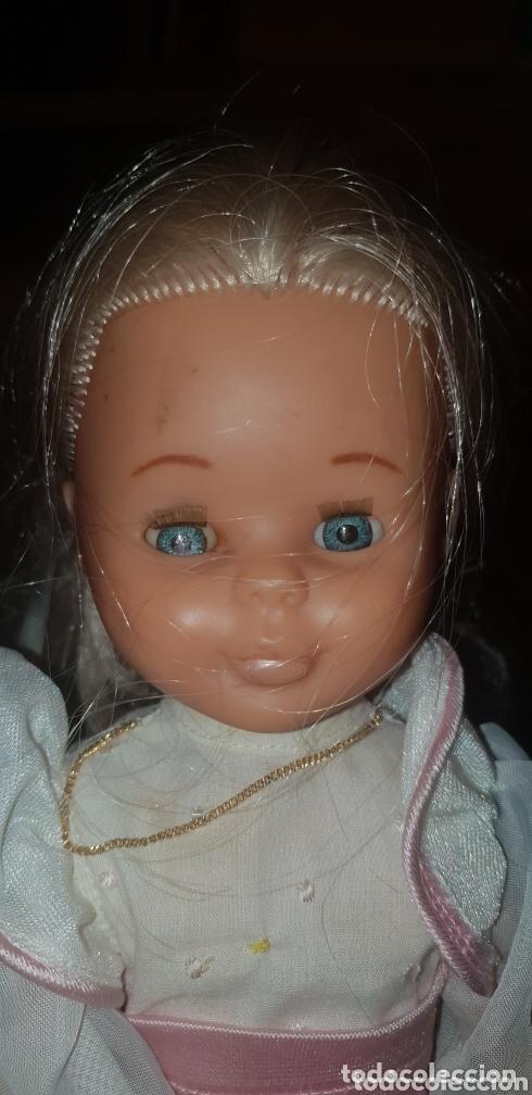 Muñecas Nancy y Lucas: Nancy rubia con ojos azules Margarita vestido original en perfectas condiciones - Foto 2 - 173399074