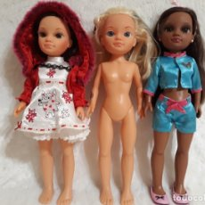Muñecas Nancy y Lucas: RESERVADAS CONCHI 3 NANCY NEW : ANABELLA, NEGRITA O MORENA , CAPERUCITA Y UNA RUBIA. Lote 173441522