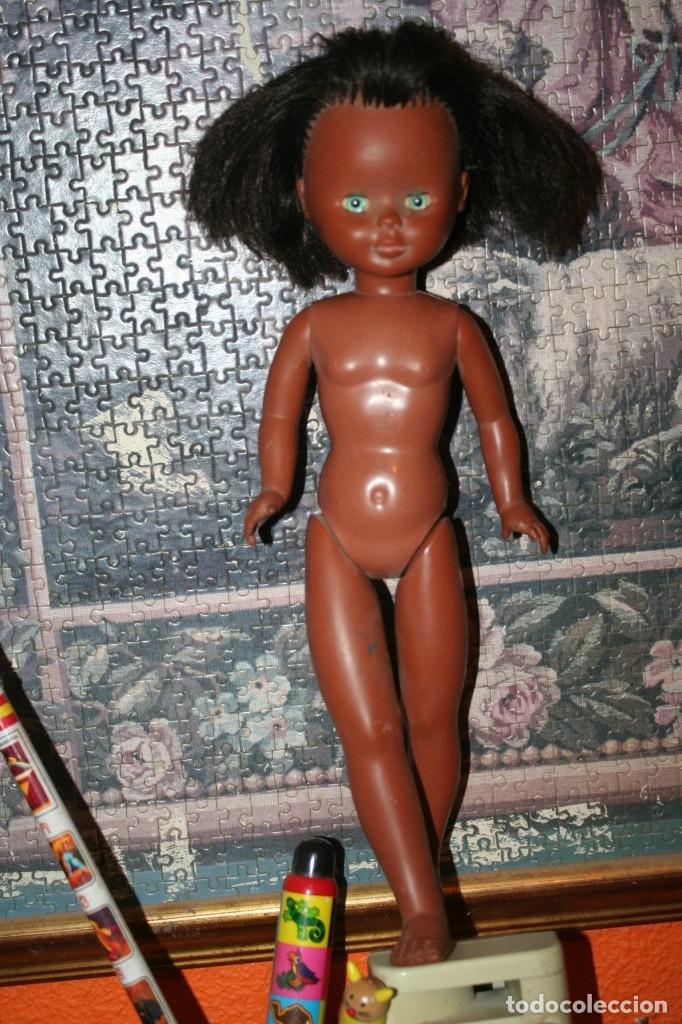 Muñecas Nancy y Lucas: muñeca nancy años 70 negrita negra pie de lesly ojos margarita solo famosa - Foto 2 - 174382002