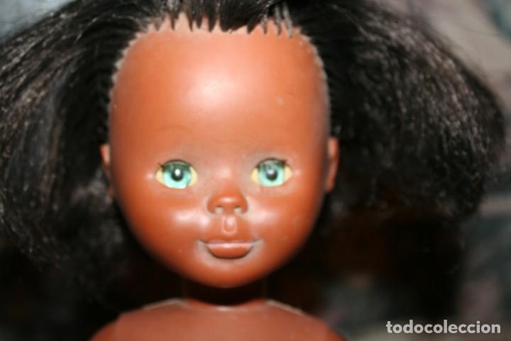 Muñecas Nancy y Lucas: muñeca nancy años 70 negrita negra pie de lesly ojos margarita solo famosa - Foto 3 - 174382002