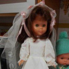 Muñecas Nancy y Lucas: CONJUNTO NOVIA ORIGINAL NANCY DE FAMOSA AÑOS 70. Lote 174515722