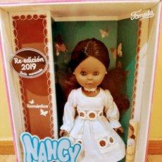 Muñecas Nancy y Lucas: NANCY NEGRITA ROMÁNTICA .NUMERADA Y CERTIFICADA REEDICIÓN.. Lote 175119614