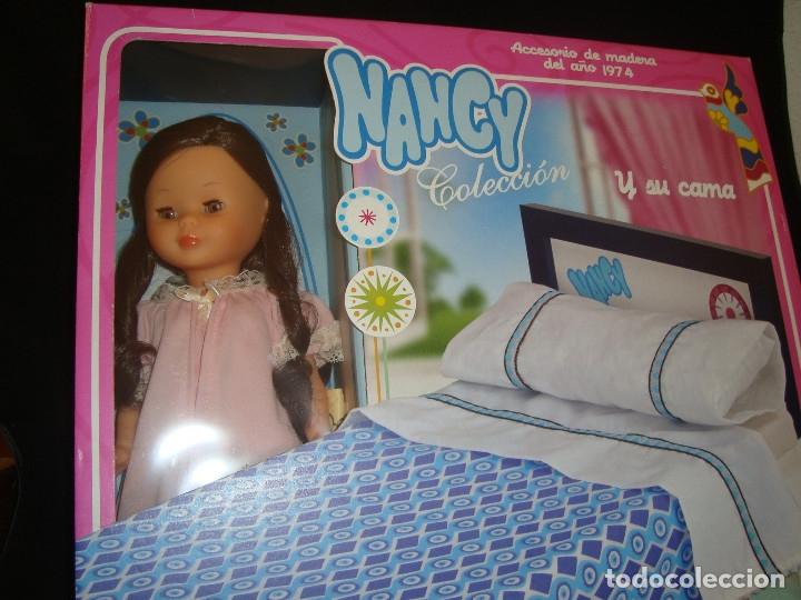 Muñecas Nancy y Lucas: NANCY Y SU CAMA REEDICIÓN DESCATALOGADO, NUEVA - Foto 2 - 175544007