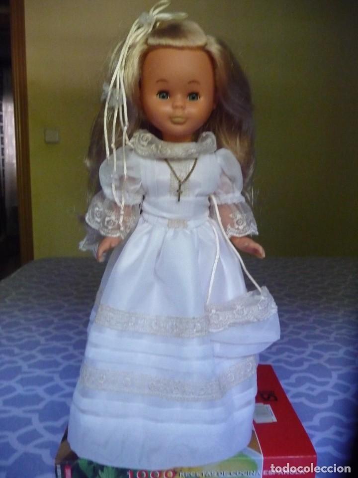 Muñecas Nancy y Lucas: Nancy de famosa comunion rubia ojos azules años 2000 - Foto 2 - 176440703