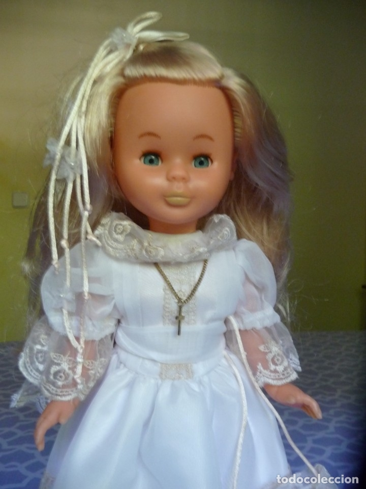 Muñecas Nancy y Lucas: Nancy de famosa comunion rubia ojos azules años 2000 - Foto 3 - 176440703