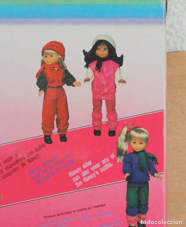 Muñecas Nancy y Lucas: Nancy bufanda negra original esquiadora conjunto ski nancy mulata años 80. - Foto 2 - 177425618