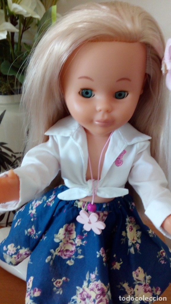 Muñecas Nancy y Lucas: Nancy años 90, rubia platino y ojos azules. - Foto 2 - 178030529