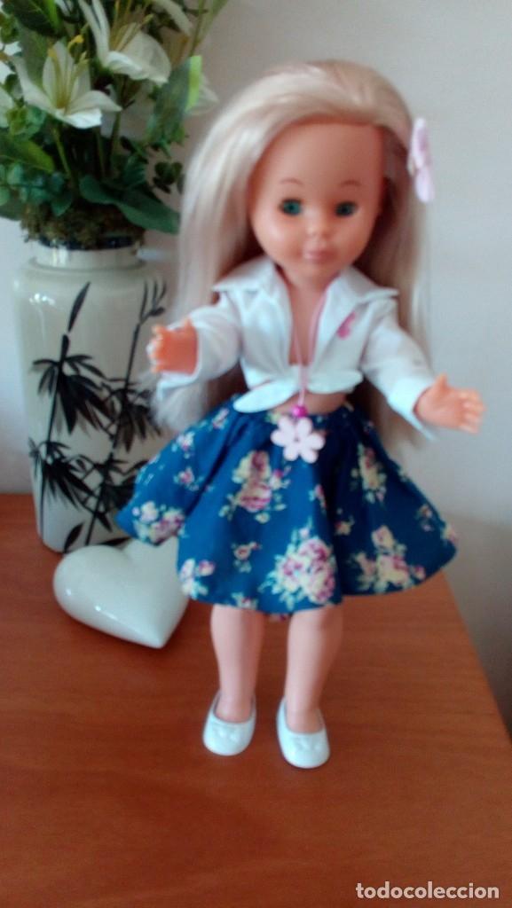 Muñecas Nancy y Lucas: Nancy años 90, rubia platino y ojos azules. - Foto 3 - 178030529