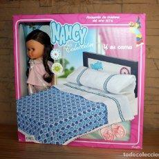 Muñecas Nancy y Lucas: NANCY Y SU CAMA - NUEVA A ESTRENAR - EN SU CAJA ORIGINAL - REEDICION. Lote 215324173