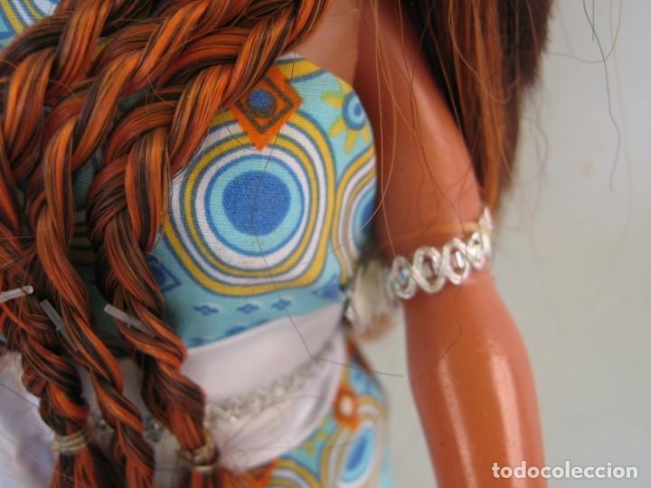 Muñecas Nancy y Lucas: Muñeca New moderna Los Viajes de Nancy Negra Negrita Nunca jugada con todos sus accesorios sin caja - Foto 10 - 178369096