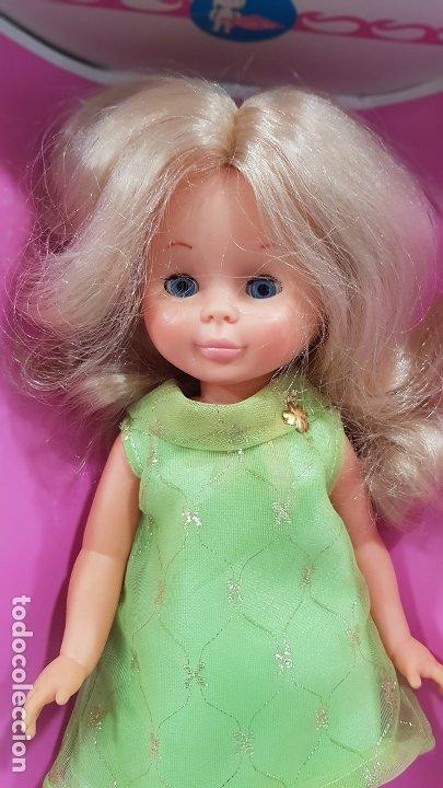 Muñecas Nancy y Lucas: NANCY PRESENTACION TROUSSEAU ojos azules AÑO 1969 A ESTRENAR EN CAJA ORIGINAL - Foto 8 - 178862322