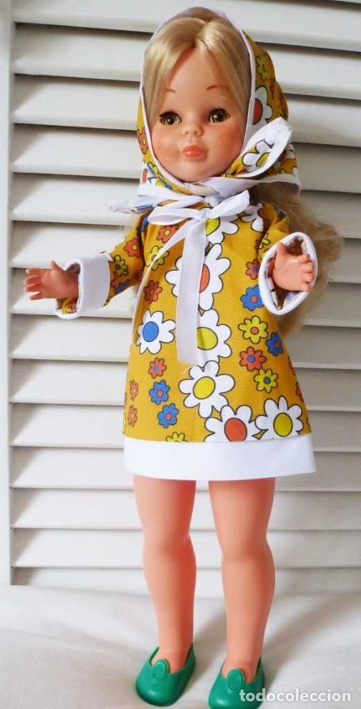REPLICA VESTIDO NANCY MODELO PRIMAVERA (Juguetes - Muñeca Española Moderna - Nancy y Lucas, Vestidos y Accesorios)