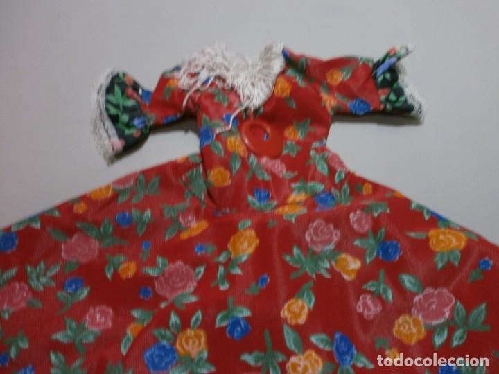 Muñecas Nancy y Lucas: vestido tamaño ideal para nancy flamenca - Foto 2 - 179526207