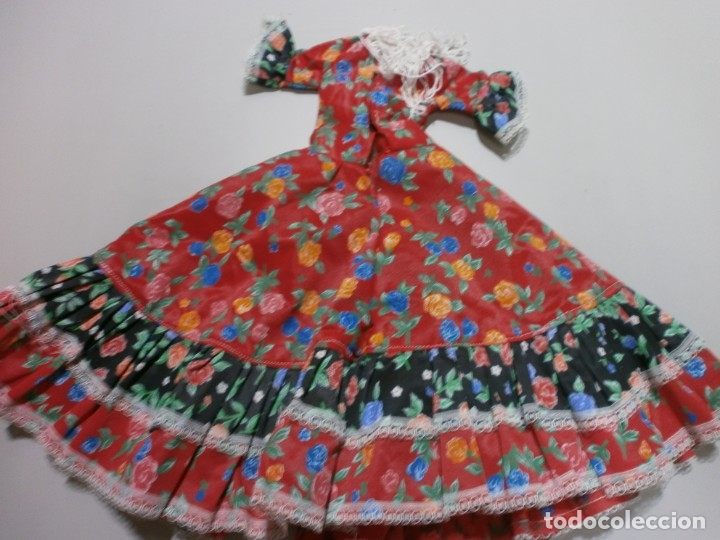 Muñecas Nancy y Lucas: vestido tamaño ideal para nancy flamenca - Foto 3 - 179526207