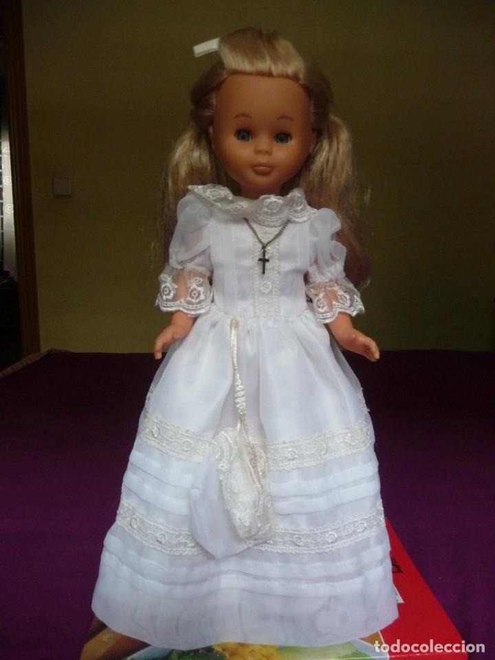Muñecas Nancy y Lucas: Nancy Famosa comunion rubia con ojos azules vestida y calzada - Foto 2 - 180016196