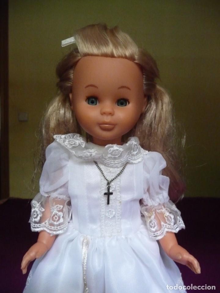 Muñecas Nancy y Lucas: Nancy Famosa comunion rubia con ojos azules vestida y calzada - Foto 3 - 180016196