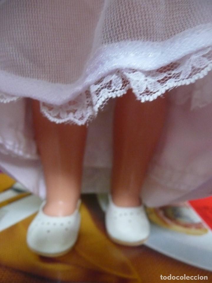 Muñecas Nancy y Lucas: Nancy Famosa comunion rubia con ojos azules vestida y calzada - Foto 5 - 180016196