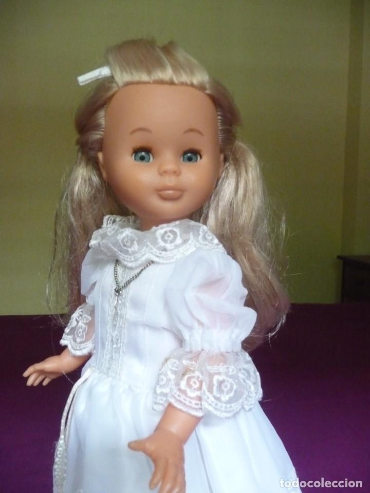 Muñecas Nancy y Lucas: Nancy Famosa comunion rubia con ojos azules vestida y calzada - Foto 8 - 180016196