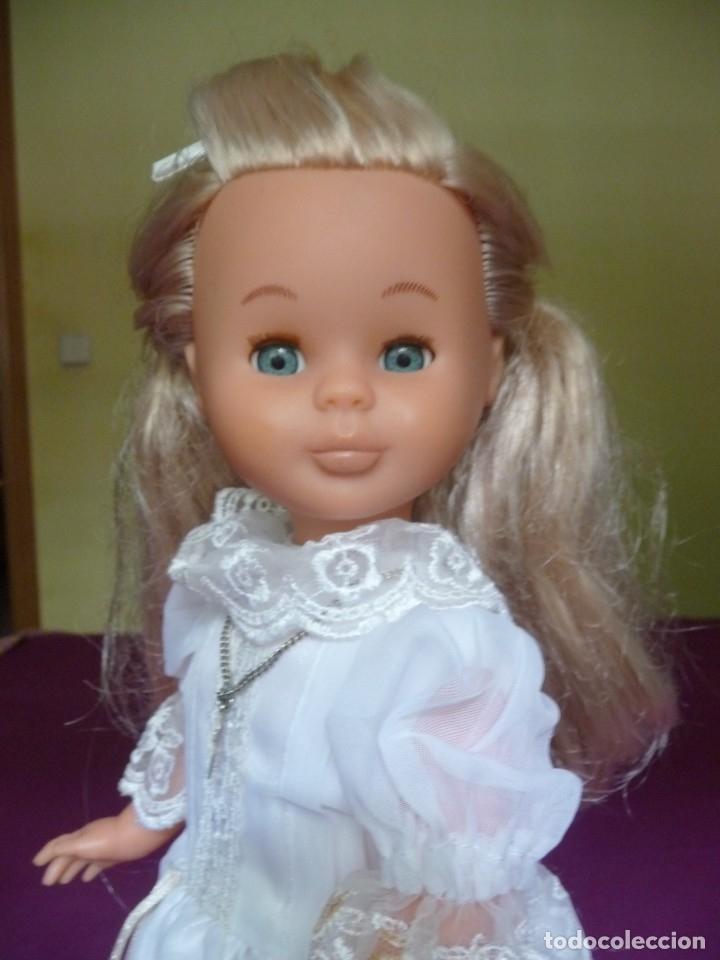 Muñecas Nancy y Lucas: Nancy Famosa comunion rubia con ojos azules vestida y calzada - Foto 9 - 180016196