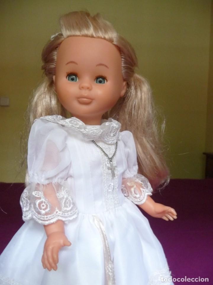 Muñecas Nancy y Lucas: Nancy Famosa comunion rubia con ojos azules vestida y calzada - Foto 10 - 180016196