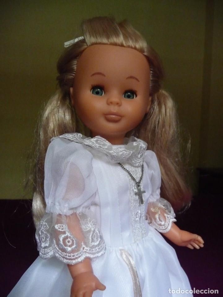 Muñecas Nancy y Lucas: Nancy Famosa comunion rubia con ojos azules vestida y calzada - Foto 11 - 180016196